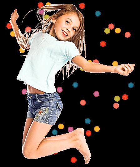 jumping kid